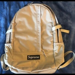 Supreme SS18 Cordura Backpack Tan